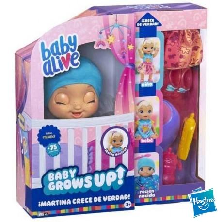 Baby Alive Crece de Verdad