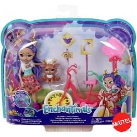 Enchantimals Bici Amiguitos