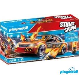 Coche Stunt Show Playmobil