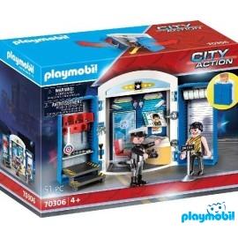 Cofre Policia Playmobil