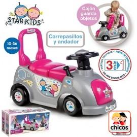 Correpasillos Star Kids Rosa