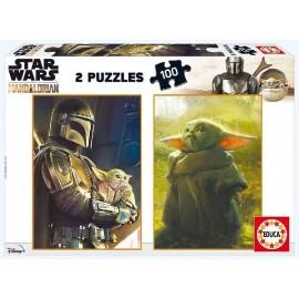 Puzzle 100x2 The Mandalorian