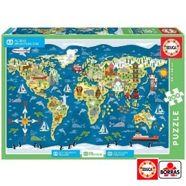 Puzzle 200 Aldeas Infantiles