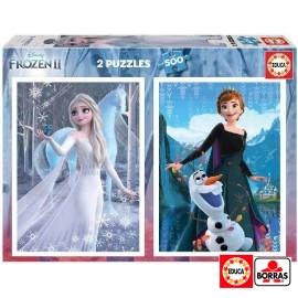 Puzzle 500x2 Frozen