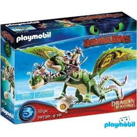 Dragon 2 Cabezas con Chu