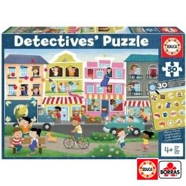Puzzle 50 Ciudad Detective