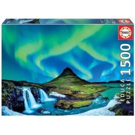 Puzzle 1500 Aurora Boreal