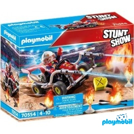 Kart Bombero Playmobil