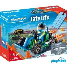 Set Go-Kart Playmobil