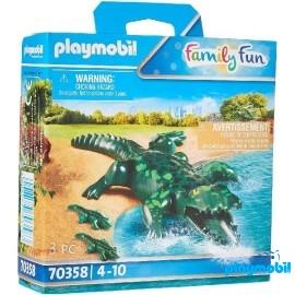 Cocodrilo con Bebe Playmobil