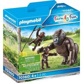 Gorila con Bebe Playmobil