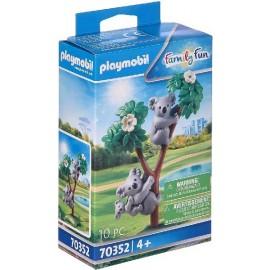 Koalas con Bebe Playmobil