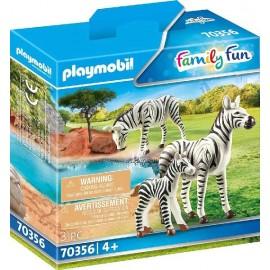 Cebras con Bebe Playmobil
