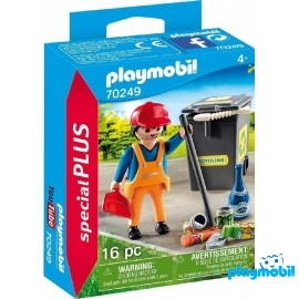 Barrendero Playmobil