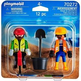 Obreros Playmobil