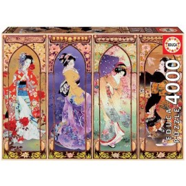 Puzzle 4000 Collage Japones