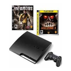 Playstation 3 - 250Gb. + Infamous + Killzone 2