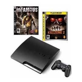 Playstation 3 - 250Gb. + Infamous + Killzone 2