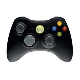 Mando Wireless Xbox360 Negro