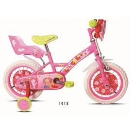 """Bicicleta 14"""" Tarta de Fresa"""