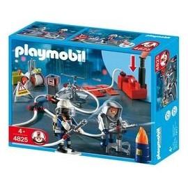Bomberos con Bomba Playmobil