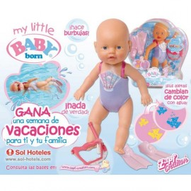 Baby Born Nadador