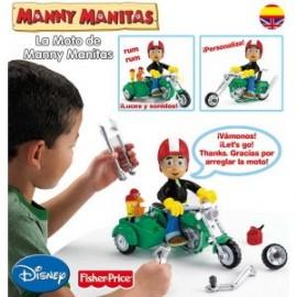 Moto de Manny Manitas