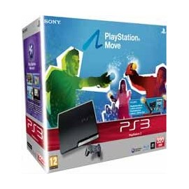 Playstation 3 320Gb. + Move Starter Pack