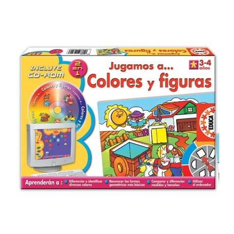 Jugamos a... Colores y Figuras