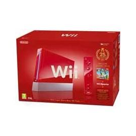 Wii Sports Roja Pack Mario (Edición Limitada)