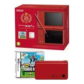 Nintendo DSiXL Roja Ed. 25 Aniversario Mario