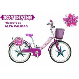 """Bicicleta 20"""" Patito Divina"""