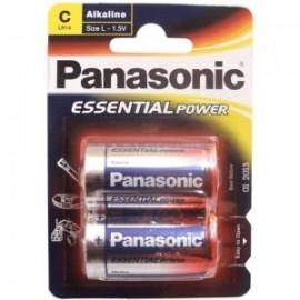 Pila C Alkalina Panasonic (Unidad)