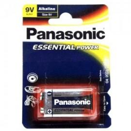 Pila 9v Alkalina Panasonic (Unidad)