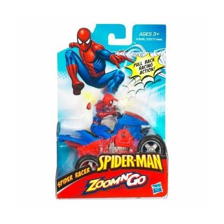 Vehiculos Quad o Moto Spiderman
