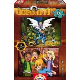 Puzzle 48x2 Gormiti