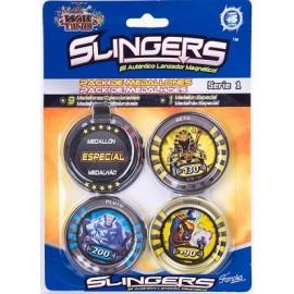 Slingers Pack 10 Medallones