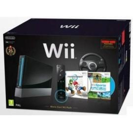 Nintendo Wii Negra Pack Mario