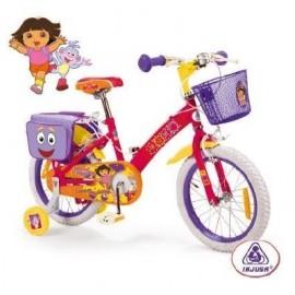 """Bicicleta 16"""" Dora la Exploradora"""