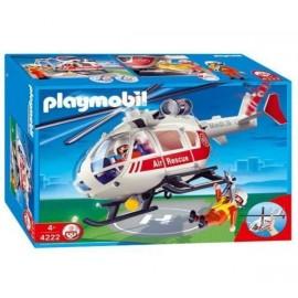 Playmobil Helicoptero de Urgencias
