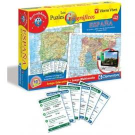 Puzzle 104 Geografico España