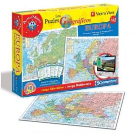 Puzzle 104 Geografico Europa