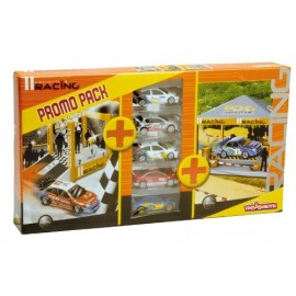 Pack 5 Coches Racing