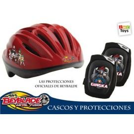Casco y Protecciones Beyblade