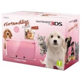 Nintendo 3ds Rosa + Nintendogs
