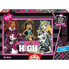 Puzzle 200 Monster High
