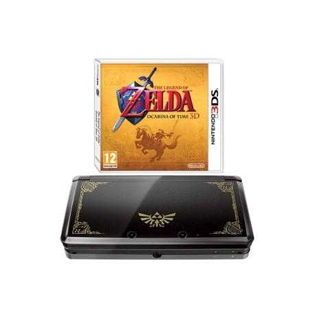 Nintendo 3DS Negra + Zelda Ocarina of Time - Juguetes Pedrosa