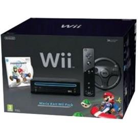 Nintendo Wii Negra Pack Mario Kart