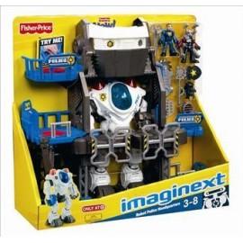 Cuartel Robot Policia Imaginext