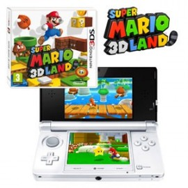 Nintendo 3ds Blanca + Super Mario 3D Land